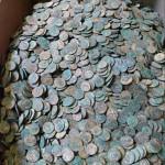 22,000 Bronze Roman coins
