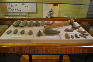 There are several other hoards on display at the museum.