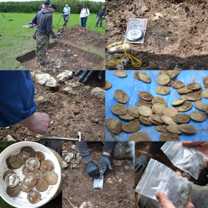 Roman Silver Coins found by XP DEUS User Dan Stevenson of Reading UK.