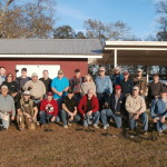 A group shot of avid DEUS owners that attended the Gulfport, MS XP DEUS Bootcamp in January 2015.
