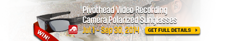 Win a Pivothead Video Recording Camera Polarized Sunglasses